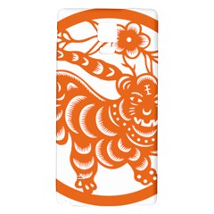 Chinese Zodiac Signs Tiger Star Orangehoroscope Galaxy Note 4 Back Case
