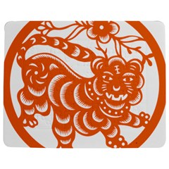 Chinese Zodiac Signs Tiger Star Orangehoroscope Jigsaw Puzzle Photo Stand (rectangular) by Mariart