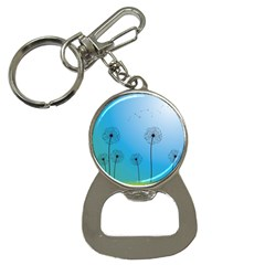 Flower Back Blue Green Sun Fly Button Necklaces by Mariart