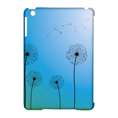 Flower Back Blue Green Sun Fly Apple Ipad Mini Hardshell Case (compatible With Smart Cover) by Mariart