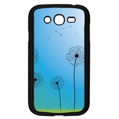 Flower Back Blue Green Sun Fly Samsung Galaxy Grand Duos I9082 Case (black) by Mariart