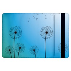 Flower Back Blue Green Sun Fly Ipad Air Flip by Mariart