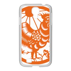 Chinese Zodiac Horoscope Zhen Icon Star Orangechicken Samsung Galaxy S4 I9500/ I9505 Case (white) by Mariart