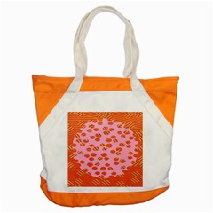 Distance Absence Sea Holes Polka Dot Line Circle Orange Chevron Wave Accent Tote Bag by Mariart