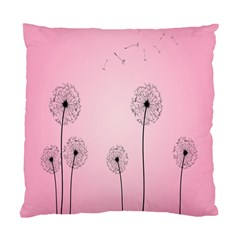 Flower Back Pink Sun Fly Standard Cushion Case (one Side) by Mariart