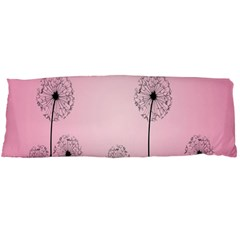 Flower Back Pink Sun Fly Body Pillow Case Dakimakura (two Sides) by Mariart