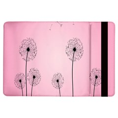 Flower Back Pink Sun Fly Ipad Air Flip by Mariart