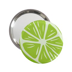 Gerald Lime Green 2 25  Handbag Mirrors by Mariart