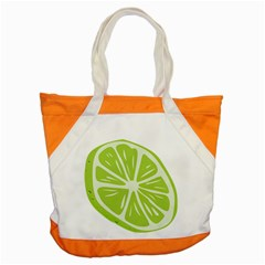 Gerald Lime Green Accent Tote Bag by Mariart