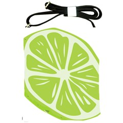 Gerald Lime Green Shoulder Sling Bags by Mariart