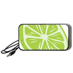 Gerald Lime Green Portable Speaker (black) by Mariart