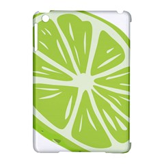 Gerald Lime Green Apple Ipad Mini Hardshell Case (compatible With Smart Cover) by Mariart