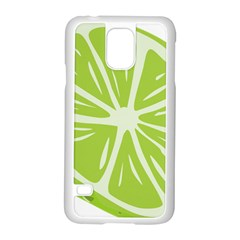 Gerald Lime Green Samsung Galaxy S5 Case (white) by Mariart