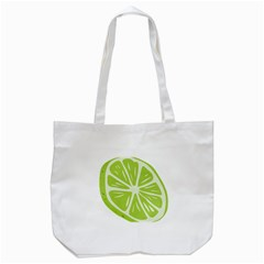 Gerald Lime Green Tote Bag (white) by Mariart