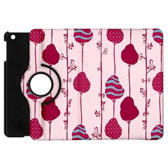 Flower Floral Mpink Frame Apple Ipad Mini Flip 360 Case by Mariart