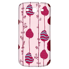 Flower Floral Mpink Frame Samsung Galaxy S3 S Iii Classic Hardshell Back Case by Mariart