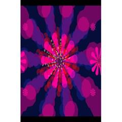 Flower Red Pink Purple Star Sunflower 5 5  X 8 5  Notebooks by Mariart