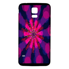 Flower Red Pink Purple Star Sunflower Samsung Galaxy S5 Back Case (white) by Mariart