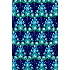 Christmas Tree Snow Green Blue 5 5  X 8 5  Notebooks by Mariart