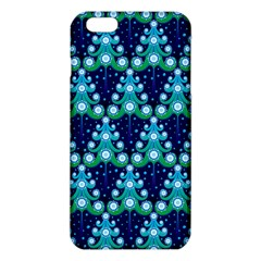 Christmas Tree Snow Green Blue Iphone 6 Plus/6s Plus Tpu Case by Mariart