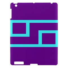 Illustrated Position Purple Blue Star Zodiac Apple Ipad 3/4 Hardshell Case by Mariart