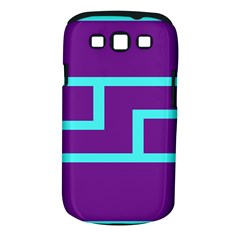 Illustrated Position Purple Blue Star Zodiac Samsung Galaxy S Iii Classic Hardshell Case (pc+silicone) by Mariart