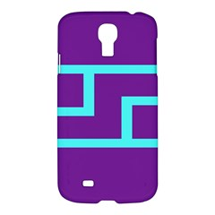Illustrated Position Purple Blue Star Zodiac Samsung Galaxy S4 I9500/i9505 Hardshell Case by Mariart