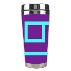 Illustrated Position Purple Blue Star Zodiac Stainless Steel Travel Tumblers by Mariart