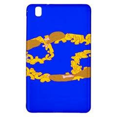 Illustrated 69 Blue Yellow Star Zodiac Samsung Galaxy Tab Pro 8 4 Hardshell Case by Mariart