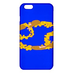 Illustrated 69 Blue Yellow Star Zodiac Iphone 6 Plus/6s Plus Tpu Case by Mariart