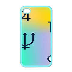 Illustrated Zodiac Star Apple Iphone 4 Case (color) by Mariart
