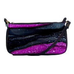 Green Pink Purple Black Stone Shoulder Clutch Bags by Mariart