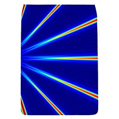 Light Neon Blue Flap Covers (s)  by Mariart