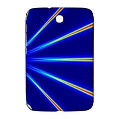 Light Neon Blue Samsung Galaxy Note 8 0 N5100 Hardshell Case  by Mariart