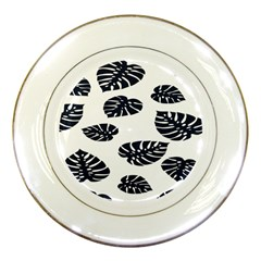 Leaf Summer Tech Porcelain Plates by Mariart