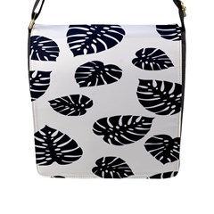 Leaf Summer Tech Flap Messenger Bag (l)  by Mariart