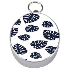 Leaf Summer Tech Silver Compasses by Mariart