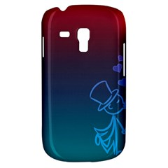 Love Valentine Kiss Purple Red Blue Romantic Galaxy S3 Mini