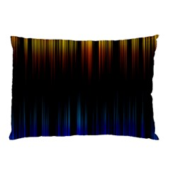 Light Orange Blue Pillow Case (two Sides) by Mariart