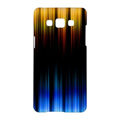 Light Orange Blue Samsung Galaxy A5 Hardshell Case  by Mariart