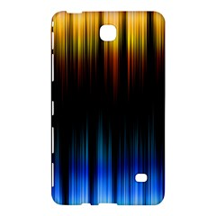 Light Orange Blue Samsung Galaxy Tab 4 (8 ) Hardshell Case  by Mariart