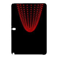 Normal Field Of An Elliptic Paraboloid Red Samsung Galaxy Tab Pro 10.1 Hardshell Case by Mariart