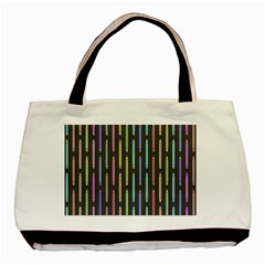 Pencil Stationery Rainbow Vertical Color Basic Tote Bag by Mariart