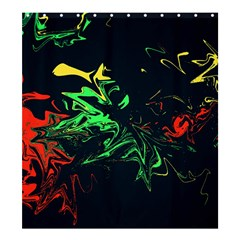 Colors Shower Curtain 66  X 72  (large)  by Valentinaart