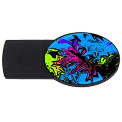 Colors Usb Flash Drive Oval (2 Gb) by Valentinaart
