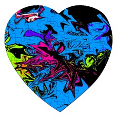 Colors Jigsaw Puzzle (heart) by Valentinaart