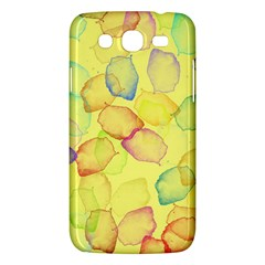 Watercolors On A Yellow Background          Samsung Galaxy Duos I8262 Hardshell Case by LalyLauraFLM