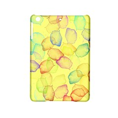 Watercolors on a yellow background          Apple iPad Air Hardshell Case by LalyLauraFLM