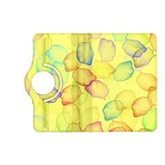 Watercolors On A Yellow Background          Samsung Galaxy Note 3 Soft Edge Hardshell Case by LalyLauraFLM