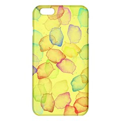 Watercolors On A Yellow Background          Iphone 6/6s Tpu Case by LalyLauraFLM
